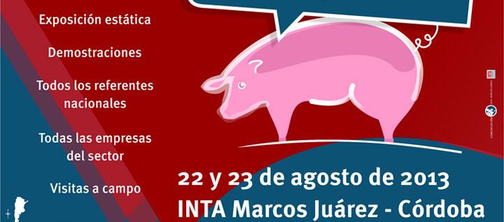 22 y 23 de agosto, en el INTA Marcos Juárez